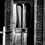 """Creepy Ghost Town Door"" by Mattfarley"