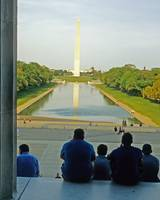 Washington Monument from Lincoln Memorial 2