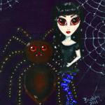 """Spider Girl"" by Bronwen"