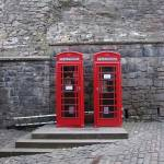 """British telephone booths"" by dwydra"