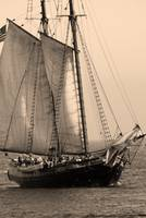 Tall Ship sepia 1