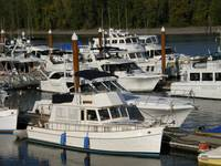 Boats at the Marina, St Helens, Oregon, USA