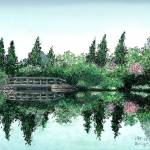 """""""Springtime at the Pond"""" by McHenryDesigns"""