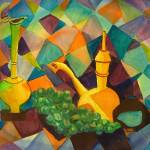"""Aladdins Lamps Abstract by Sonya P."" by flowerswithfeelings"