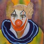 """Clown Portrait by Sonya P."" by flowerswithfeelings"