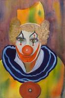 Clown Portrait by Sonya P.