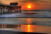 Cocoa Beach Pier at Sunrise