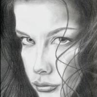 """Liv Tyler"" by Michael McHenry"