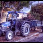 """The Resting Tractor"" by ISIK5"