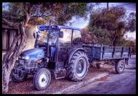 The Resting Tractor