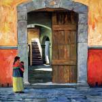 """Pueblo Door"" by RICKKERSTEN"
