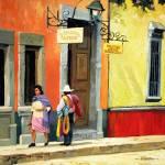 """""""Guanajuato Street"""" by RICKKERSTEN"""