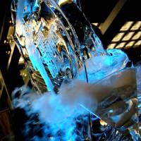 Smokin' Blue Martini Art Prints & Posters by Steve Allat