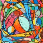 """Stained Glass Lady Bug"" by ChrisJeanguenat"