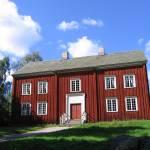 """Red House in Skansen"" by ImageLink"