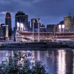 """Cincinnati at Twilight"" by chrisirmo"
