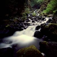 Starvation Creek Oregon Pinhole