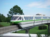 Monorail at WDW