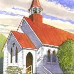 """""""Oban Presbyterian Church, Stewart Island"""" by davebaab"""
