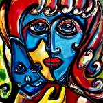 """Lady & the Cat"" by jruiz"
