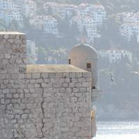 The walls of old Dubrovnik, Croatia. Art Prints & Posters by D Wydra