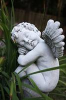 Idyllic and Innocent Angel Statue