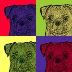 """Pop Art Pugs"" by melissashouse"