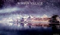 Winter Village Poster