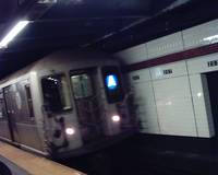 R40M A Train Approaching 207th Street