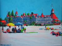 A Day At The Beach - Coronado by RD Riccoboni