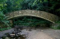 Hocking hills bridge over troubled water