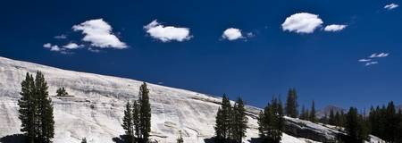 Clouds over Pothole Dome, Yosemite National Park