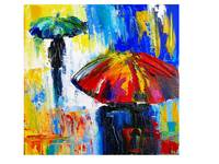Rainy Days and Mondays-Happy Umbrellas 1