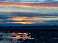 Reflections At Low Tide On The Knik Inlet