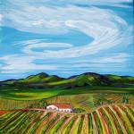 """Temecula Winery rows"" by MitchellMcClenney"