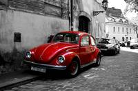 VW Beetle in Zagreb