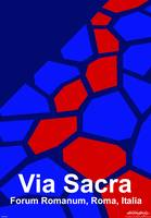 Via Sacra - Text Poster