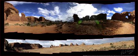 Arches Utah USA Delicate Arch Pan1&2