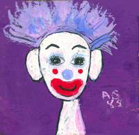 Daydreaming Clown