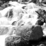 """B&W Falls"" by kelleyphotography"