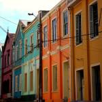 """Houses in Valparaiso"" by fabiopenna"