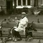"""Birdman of Town Hall Square"" by Gazographer"