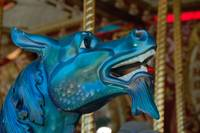 Carousel Dragon Head