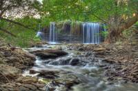 Brouilletts Creek Waterfall (IMG_6033-HDR) by Jeff VanDyke