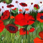 """""""Poppies Poppies"""" by scrapydapy"""