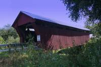 Covered Bridge in the country