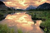 Vermillon Lake & Mount Rundle, Banff National Park