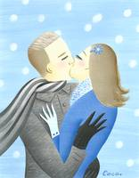 Kissing in The Snow