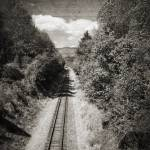 """Tracks B/W"" by kristihedberg"