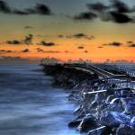 """Jetty at Ponce Inlet"" by PhillipMangels"